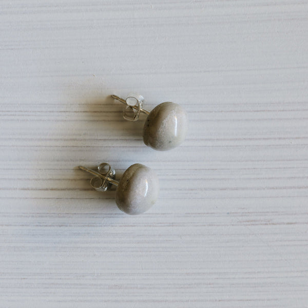 Woodfolk Rose Acorn Studs