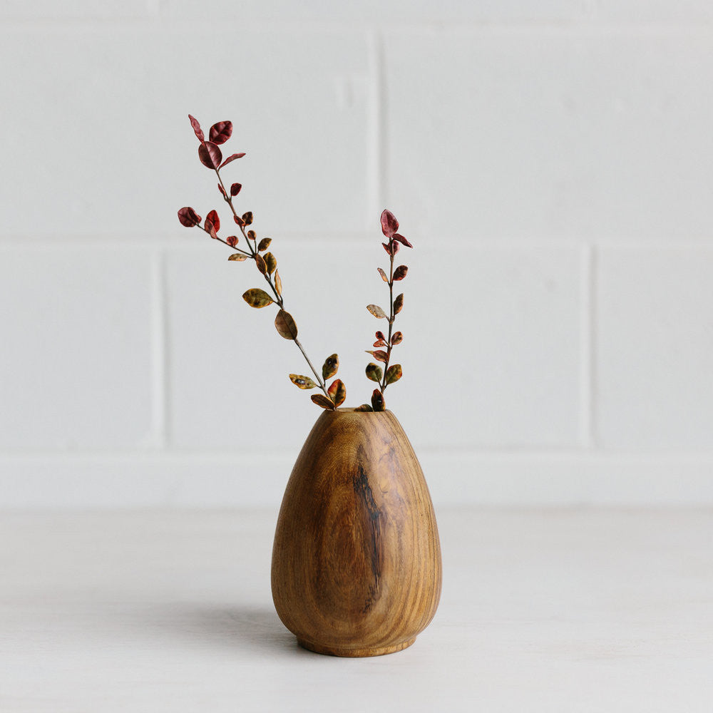 Woodfolk Wood Vase