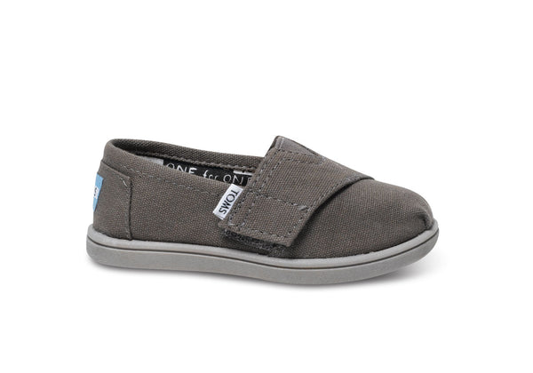 Toms Ash Canvas Tiny Alpargata