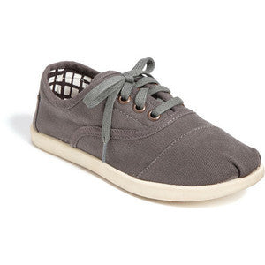 Toms Ash Canvas Youth Cordones