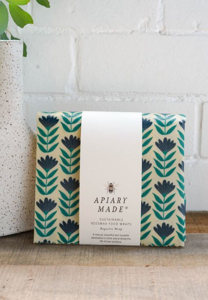 Apiary Made Baguette Beeswax Wraps