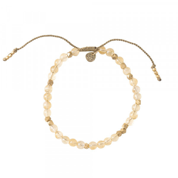 ABS Majestic Citrine Gold Bracelet