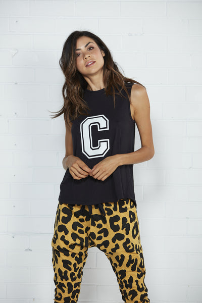 Cartel & Willow - College Tank Black