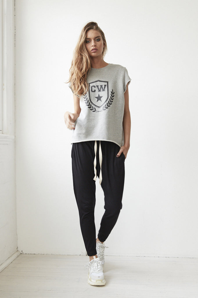 Cartel & Willow Grey College Sweat