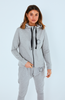 Cartel & Willow Dion Zip Up Jacket Grey Orbit