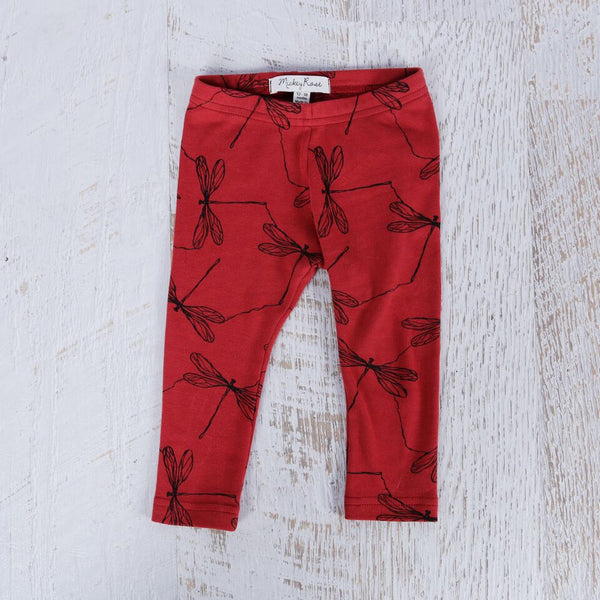 Mickey Rose - Dragon Fly Print Leggings