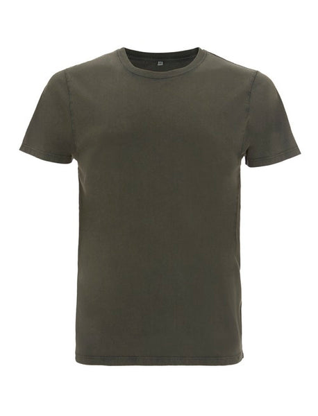 Fr33 Earth Mens Organic Stone Green T-Shirt