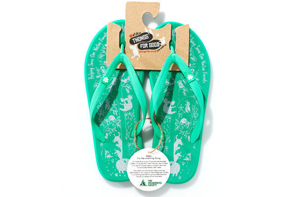 Etiko Wilderness Society Thongs