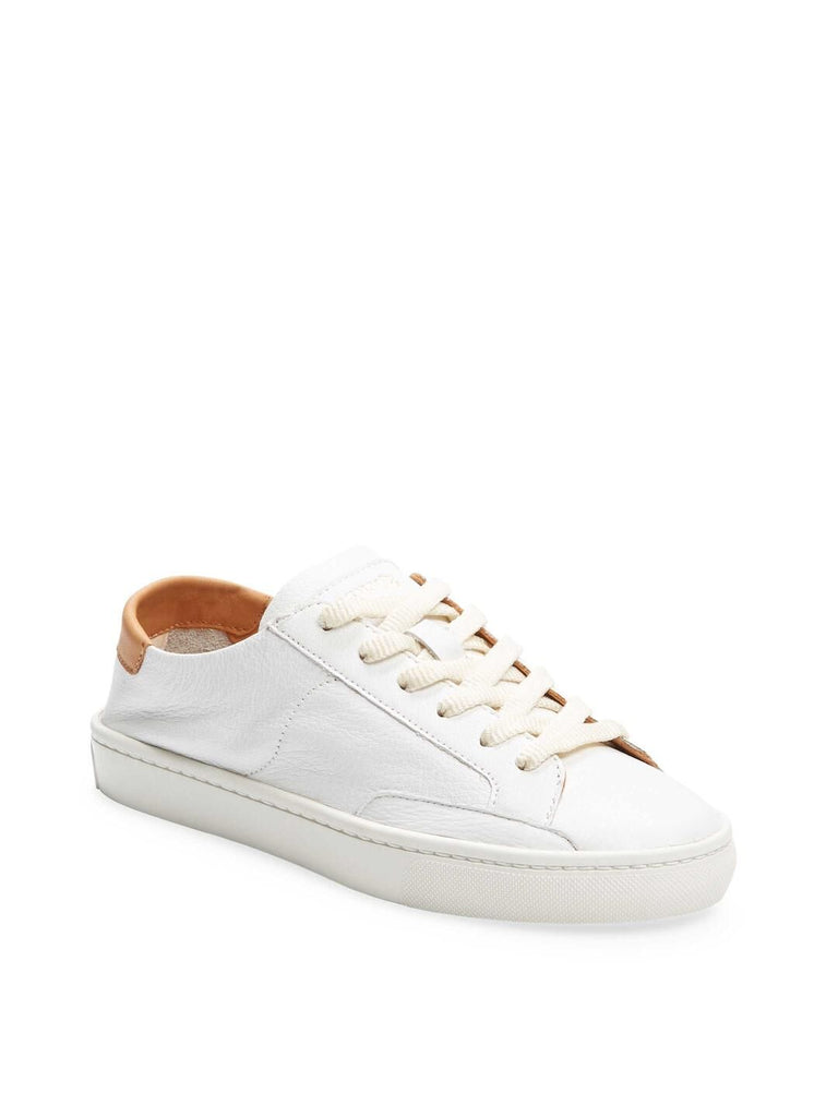 Soludos Ibiza Leather White Sneaker