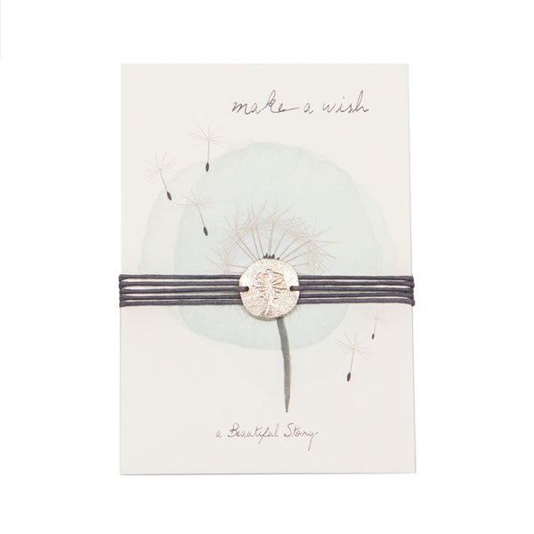 ABS Jewelry Postcard Dandelion