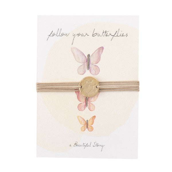 ABS Jewelry Postcard Butterfly