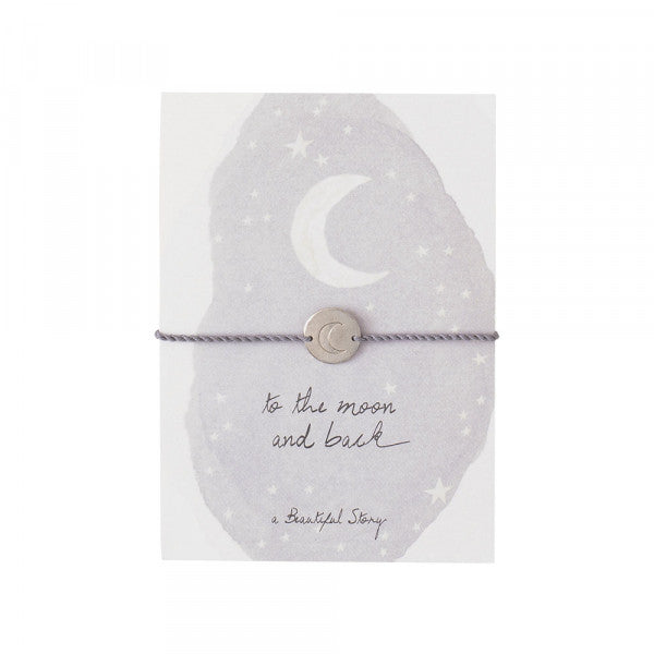 ABS Jewelry Postcard Moon