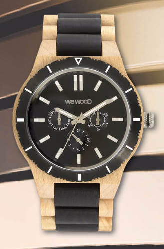 Kappa MB Beige Black Ltd Edition WeWood Watch