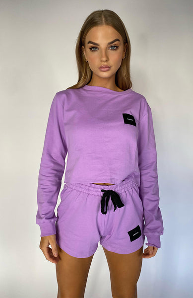 Cartel & Willow Badge Logo Top Lavender