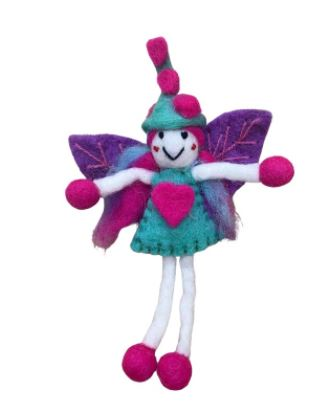 Himalayan Journey Little Miss Love Fairy Green Witch