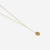 Half United Lyra Lariat Necklace