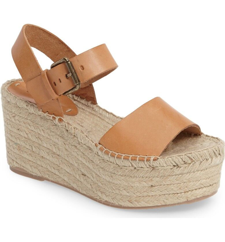 Soludos Minorca High Platforms Nude Sandals