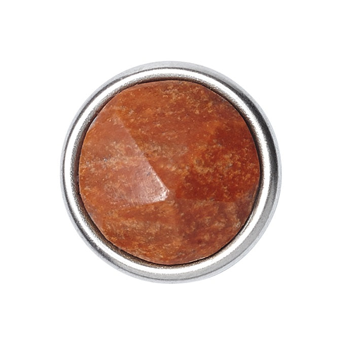 Petite Gemstone Facetted Red Jasper Chunk