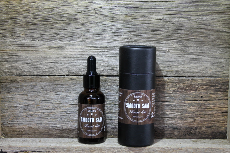 Smooth Sam Saloon Beard Oil 30ml