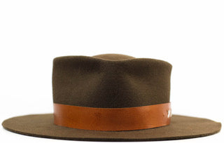 The Salty Crown Brown Mamba Fedora