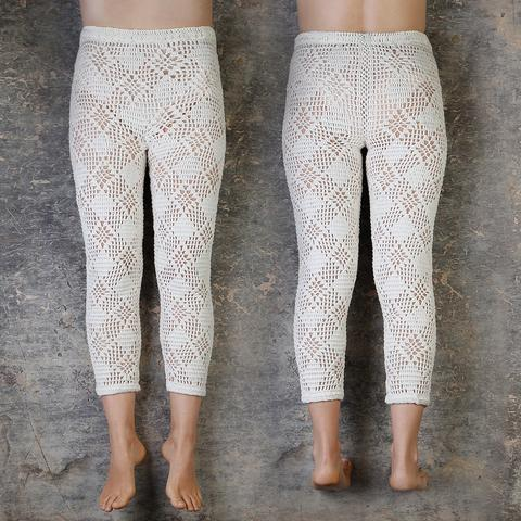 Nacido Pierrot Crochet Tights (Youth)