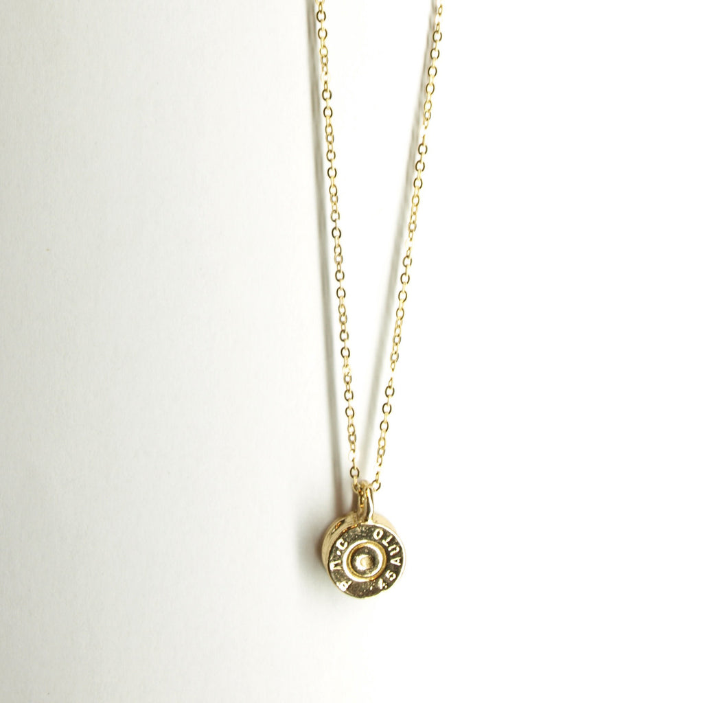 Half United Tiny Top Necklace in Gold
