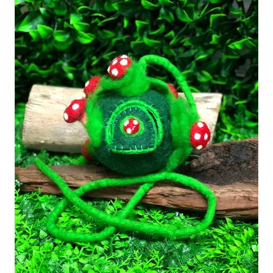 Himalayan Journey Toadstool Planet Green Pod