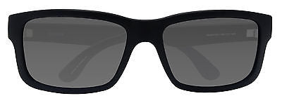 TOMS Culver Matte Black Sunglasses