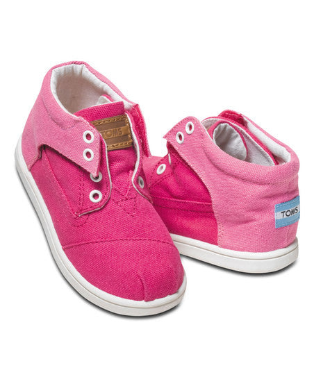 Toms Pink Color Block Tiny Botas