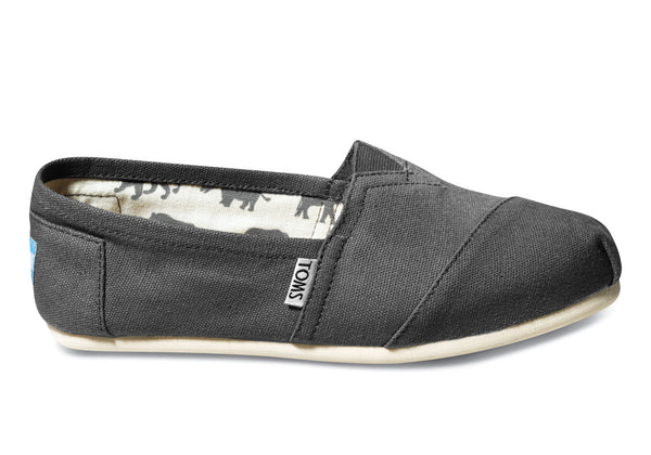 Toms Ash/Grey Classic Womens Canvas