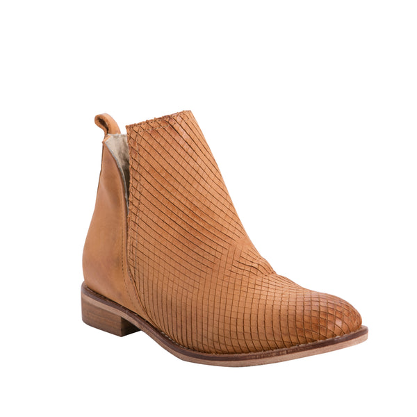 ZK Degree Tan Boot