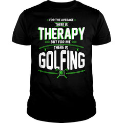 Golfing Therapy Shirt