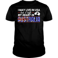 I Left My Heart In Australia Shirt