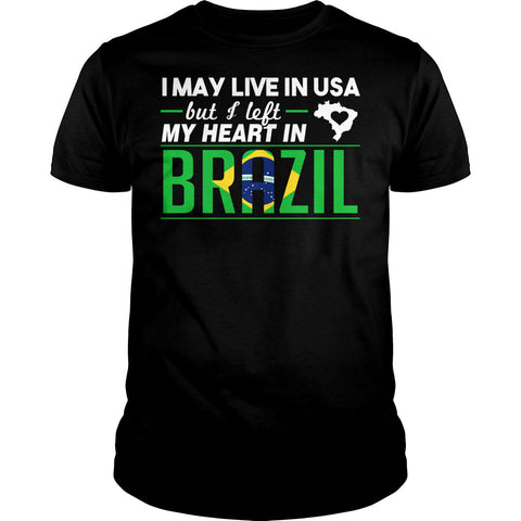 I Left My Heart In Brazil Shirt