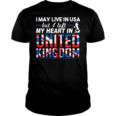 I Left My Heart In UK Shirt