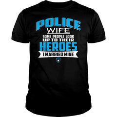 I Married My Police Officer Shirt