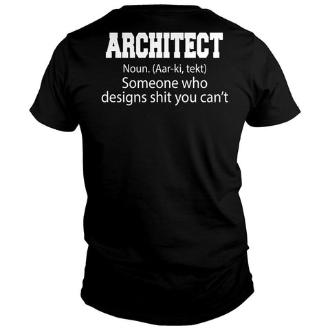 Architect Designs Stuff You Can't Shirt