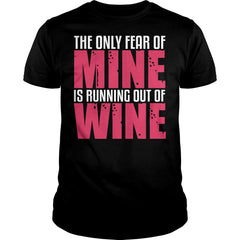Running Out Of Wine Shirt