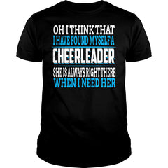 Found Myself A Cheerleader Shirt