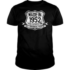 Aged To Perfection Made in 1952 Shirt