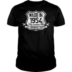 Aged To Perfection Made in 1954 Shirt