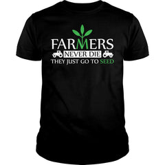 Old Farmers Never Die Shirt