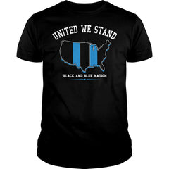 United Black And Blue Nation Shirt