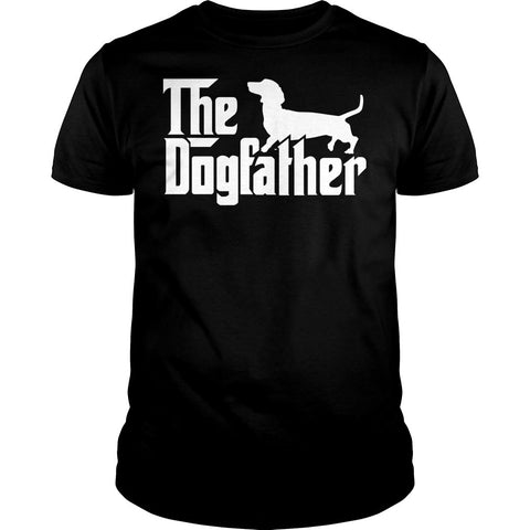 Dogfather Dachshund Shirt