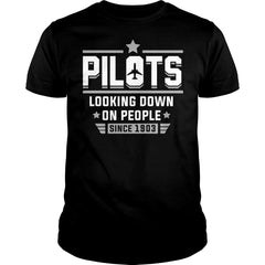 Pilots Looking Down On People Shirt