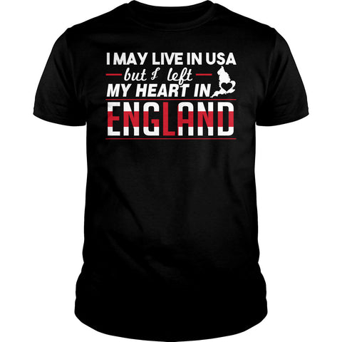 I Left My Heart In England Shirt