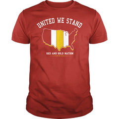 United Red And Gold Nation Shirt