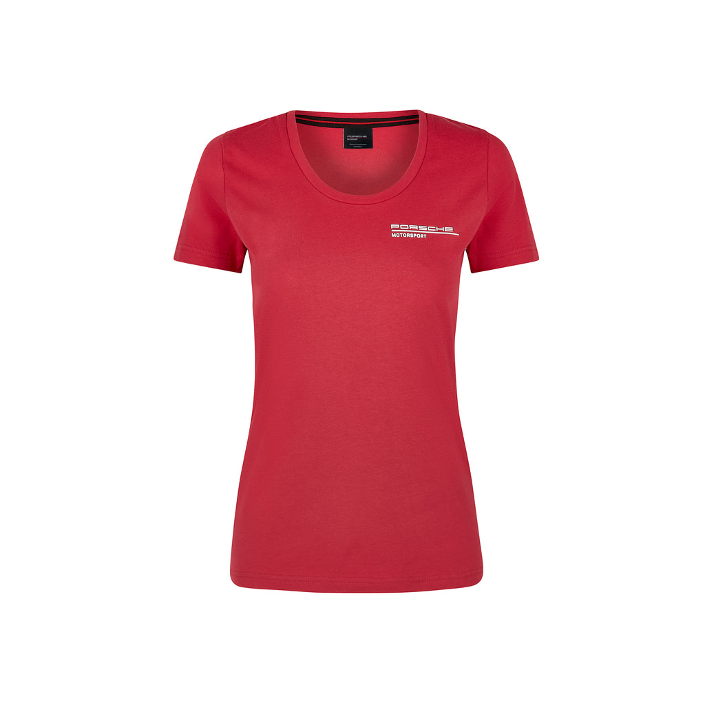 Women's Porsche Motorsport T-Shirt - Red