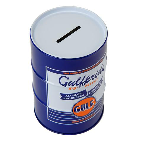 GULF MONEYBOX / PEN HOLDER