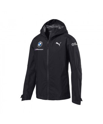 BMW Motorsport Men's Team Rain Jacket Grey
